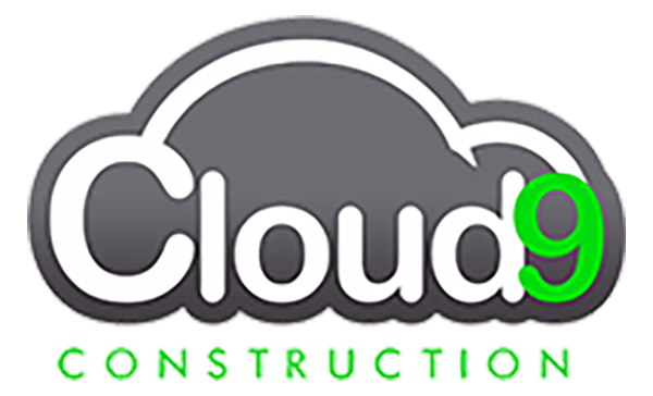 Cloud Nine Construction Logo